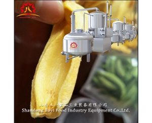 Small and medium sized double chamber vacuum frying machine